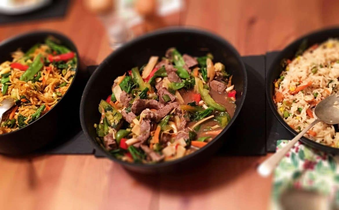 Syn Free Stir Fried Beef Ginger Spring Onions With