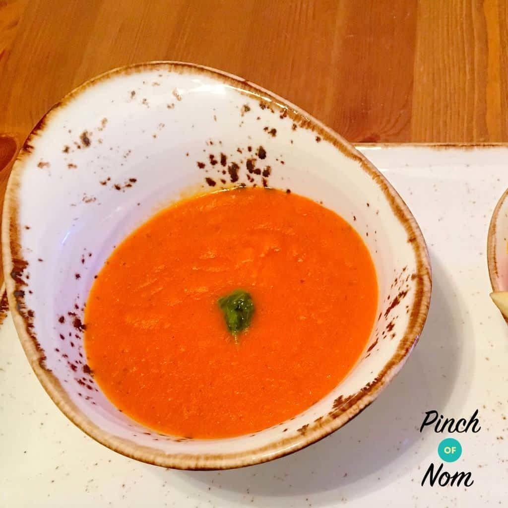 Speedy Tomato Soup – Thermomix Version pinchofnom.com