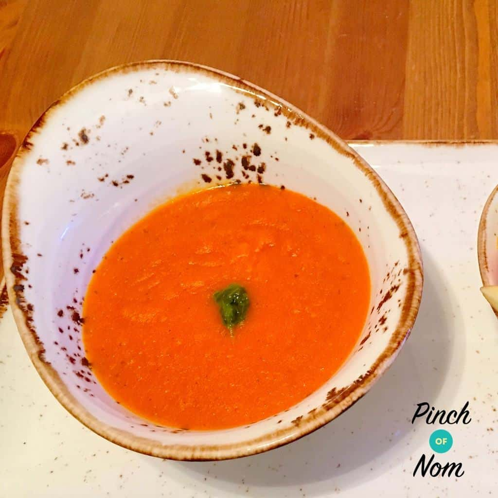 Speedy Tomato Soup – Thermomix Version pinchofnom.com