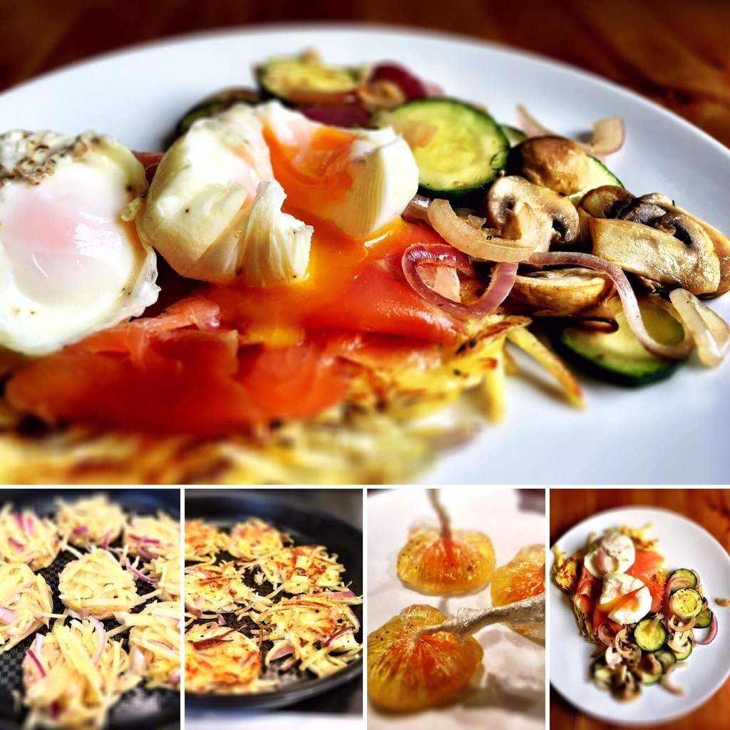 Top 6 Slimming World Breakfast Ideas - Syn Free Smoked Salmon, Potato Rosti and Poached Eggs