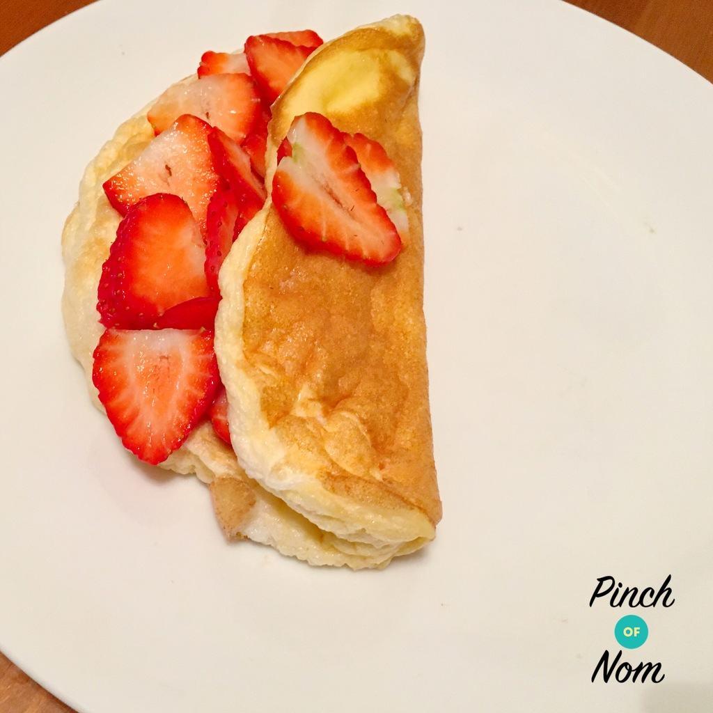 Syn Free Sweet Souffle Omelette Slimming World Pinch