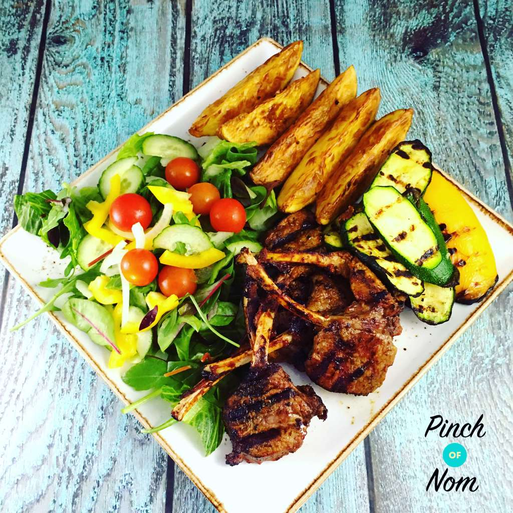 Syn Free Spicentice Ras El Hanout Lamb Chops | Slimming World