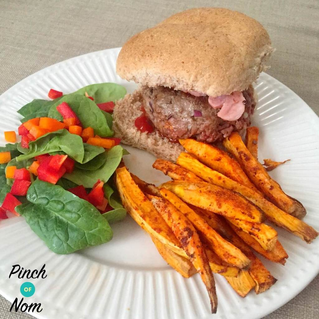 melt in middle burger slimming world