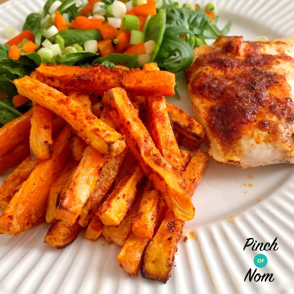 Syn Free Sweet Potato Fries Slimming World Pinch Of Nom