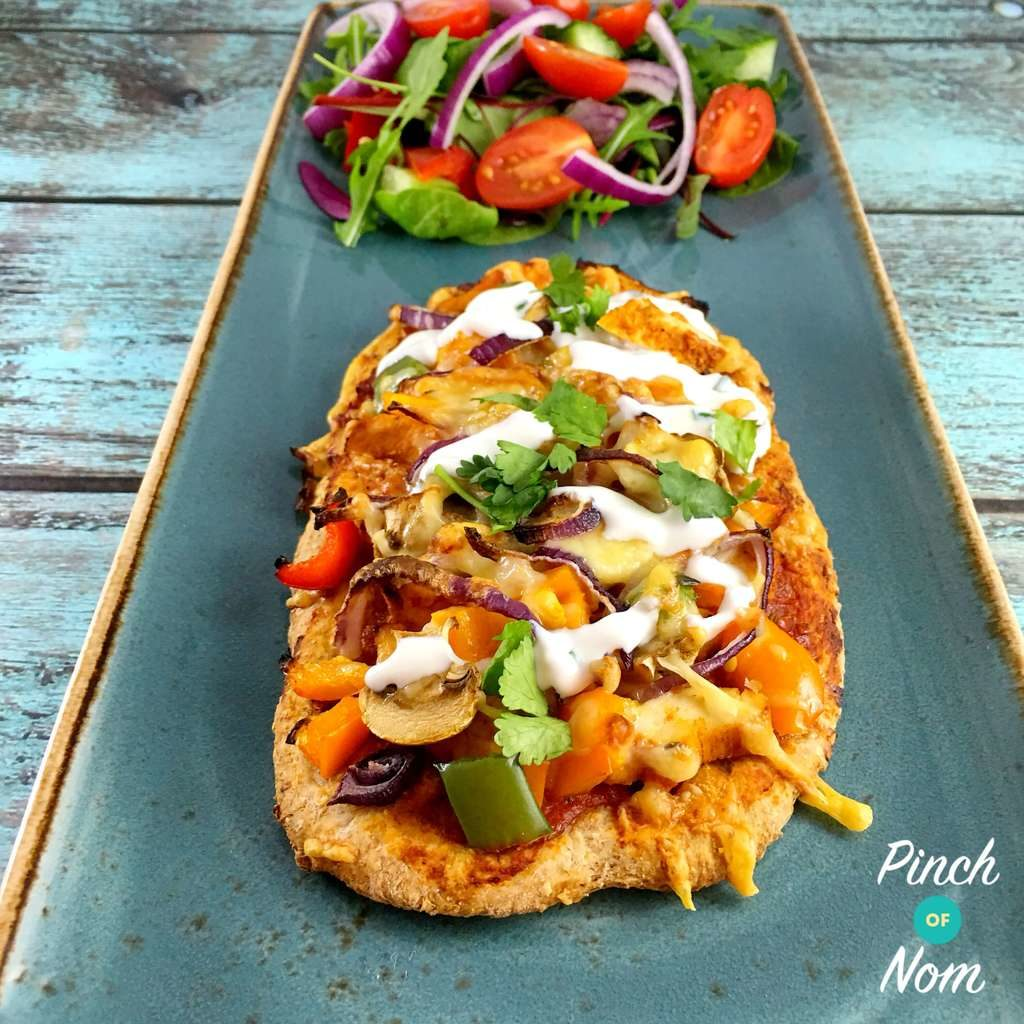Syn Free Chicken Tandoori Pizza