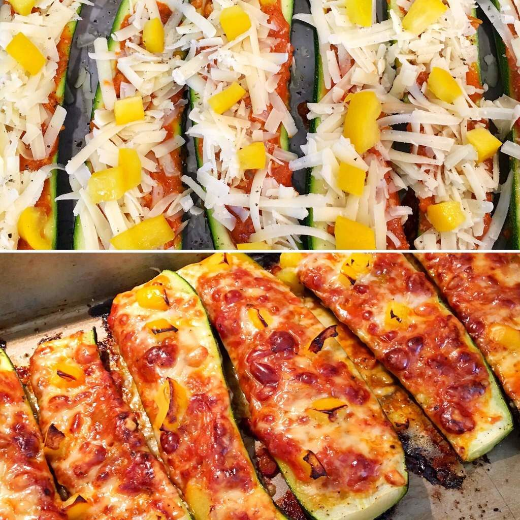 Syn Free Lasagne Courgette Boats