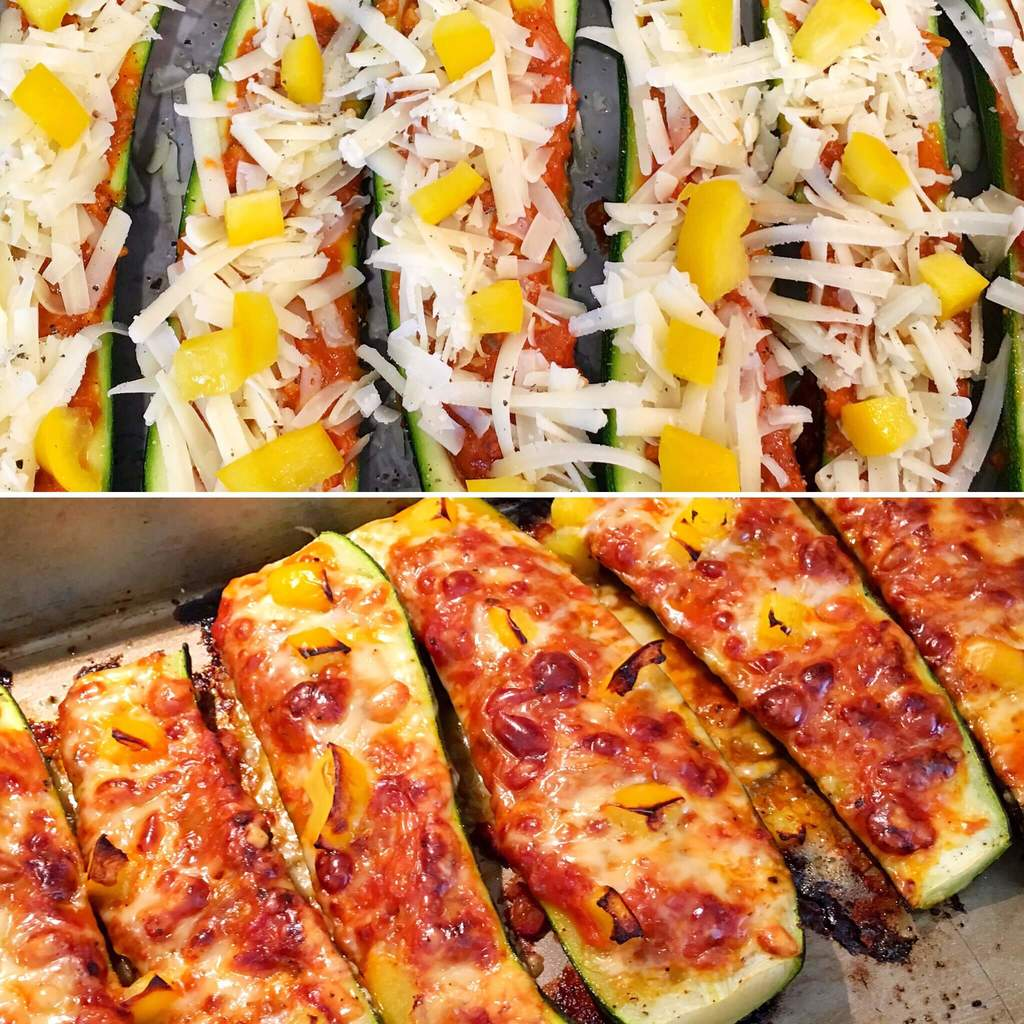Lasagne Courgette Boats | Slimming & Weight Watchers Friendly