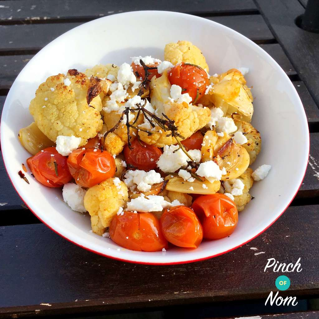 Mediterranean Roasted Cauliflower | Slimming & Weight Watchers Friendly