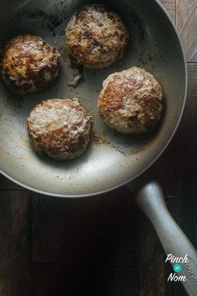 Melt-in-the-middle Bacon Cheese Burgers | Slimming World & Weight Watchers Friendly