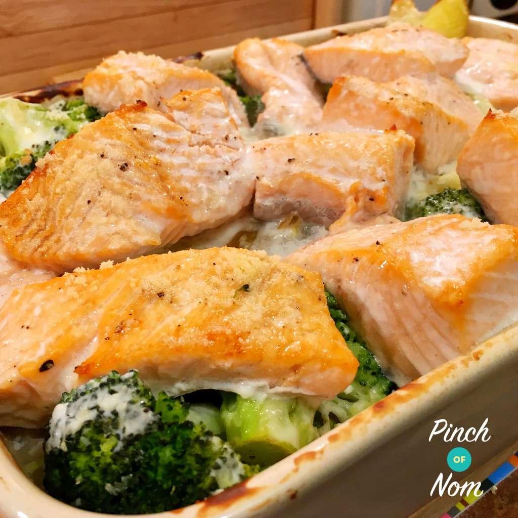 Salmon, Broccoli and Potato Bake | Slimming & Weight Watchers Friendly