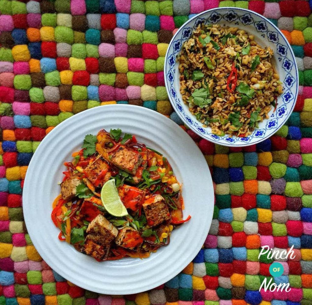 Salt and Pepper Tofu | Slimming & Weight Watchers Friendly