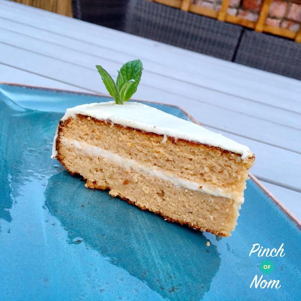 Lemon Coconut Syrup Cake