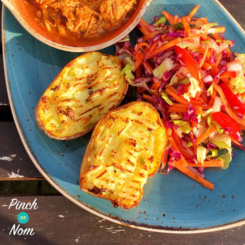 Syn Free Loaded Potato Skins | Slimming World - Pinch Of Nom