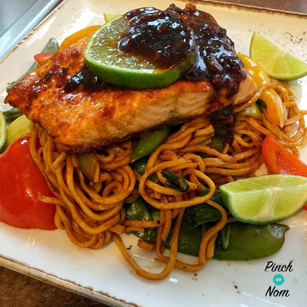 Teriyaki Chilli Salmon   Slimming & Weight Watchers Friendly