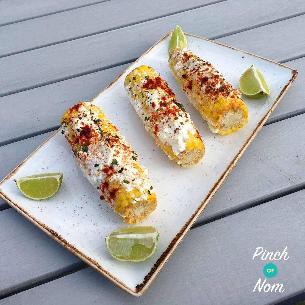 Mexican Corn on the Cob   Slimming & Weight Watchers Friendly