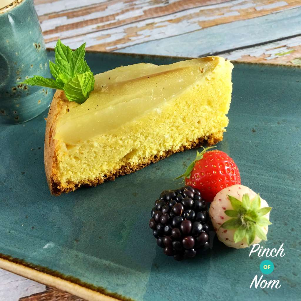Pear and Almond Sponge | Slimming & Weight Watchers Friendly