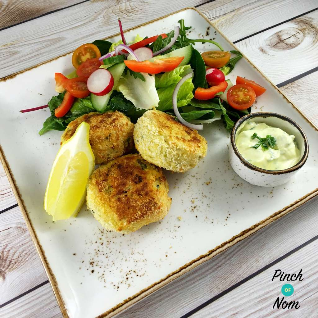 Smoked Haddock and Spring Onion Fishcakes | Slimming & Weight Watchers Friendly