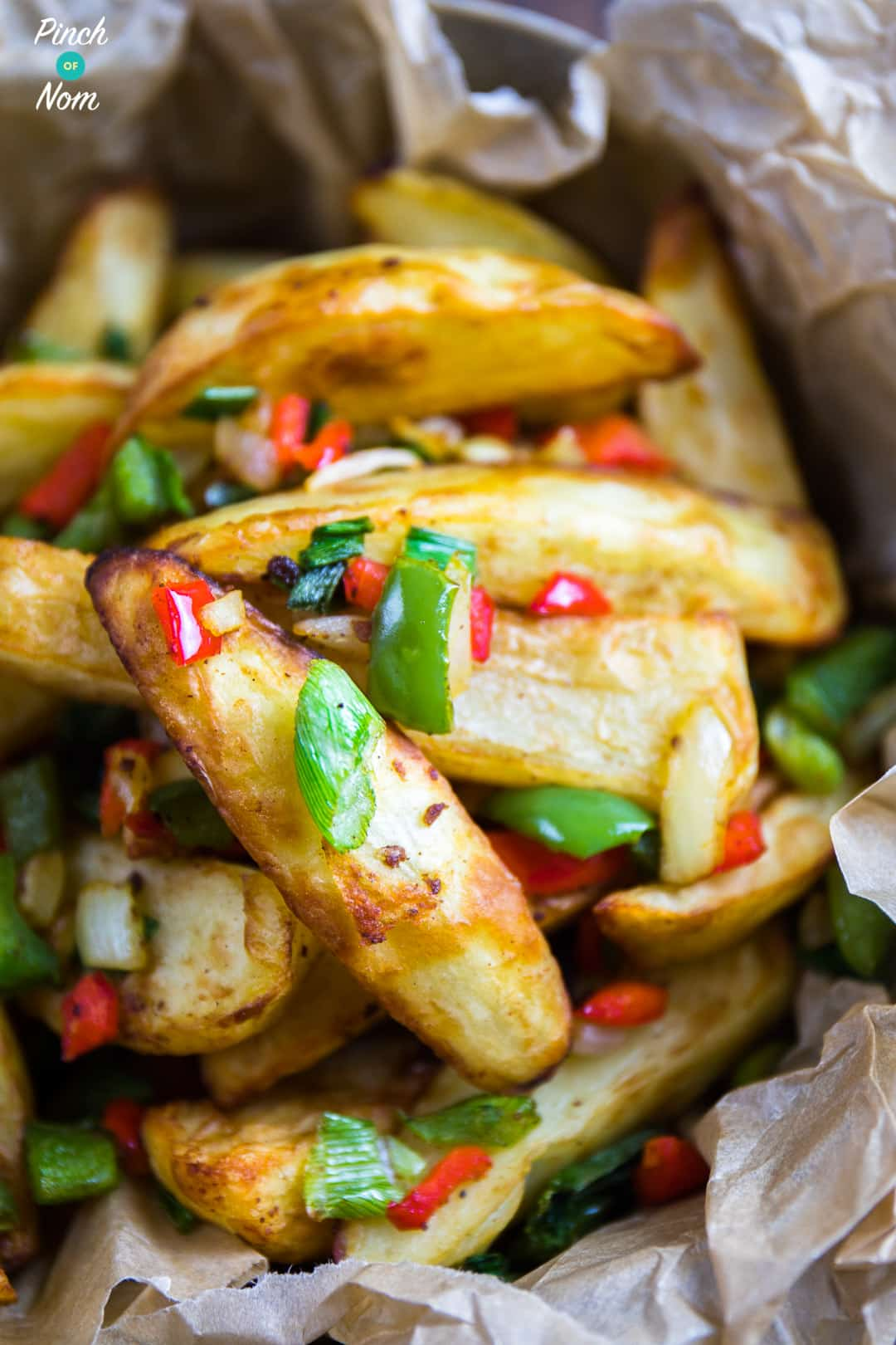 Salt and Pepper Chips | Slimming and Weight Watchers Friendly