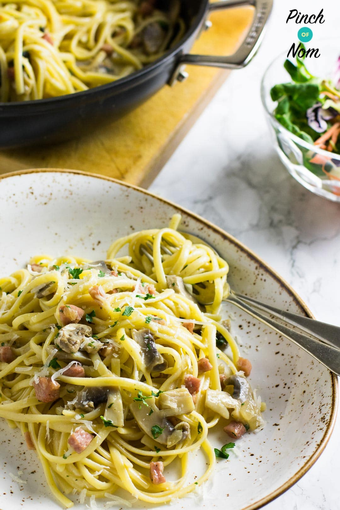 slimming world carbonara creme fraiche