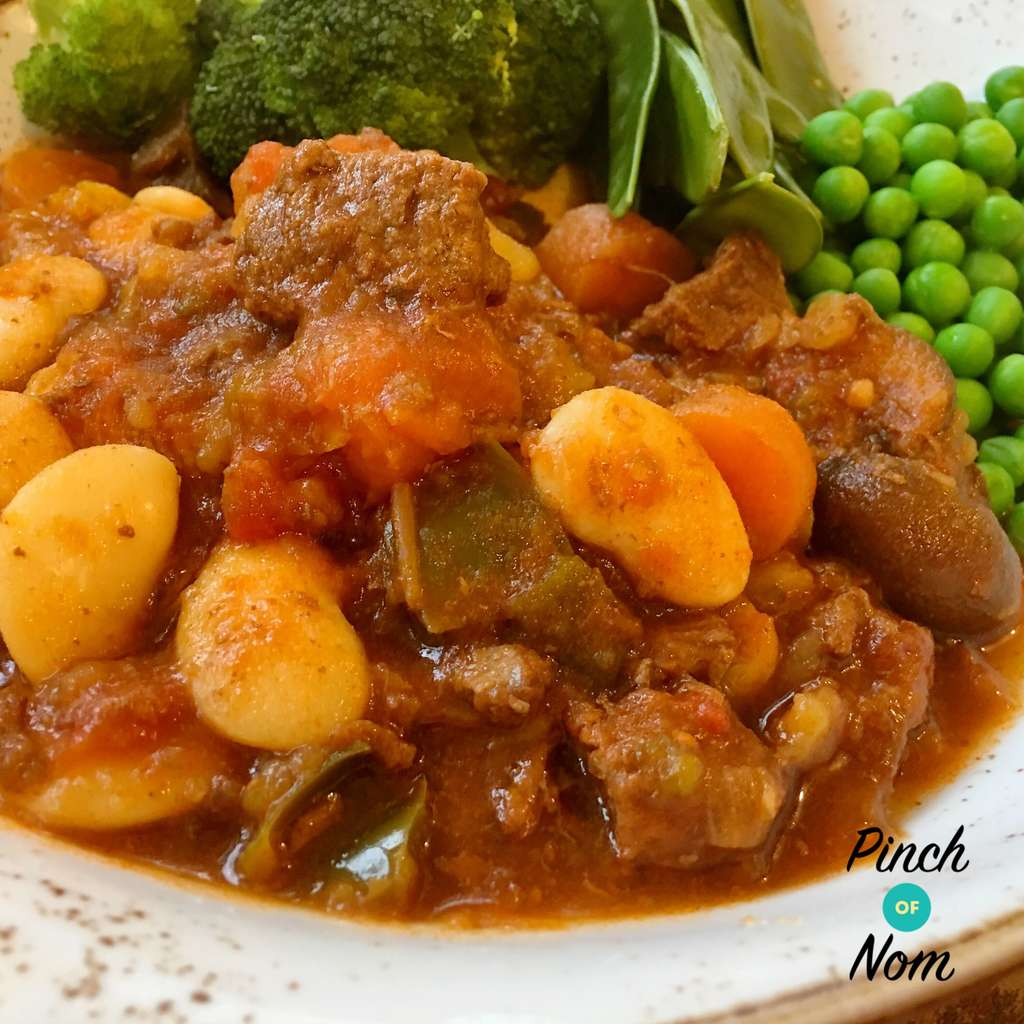 Balsamic Slow Cooker Beef Stew | Slimming & Weight Watchers Friendly