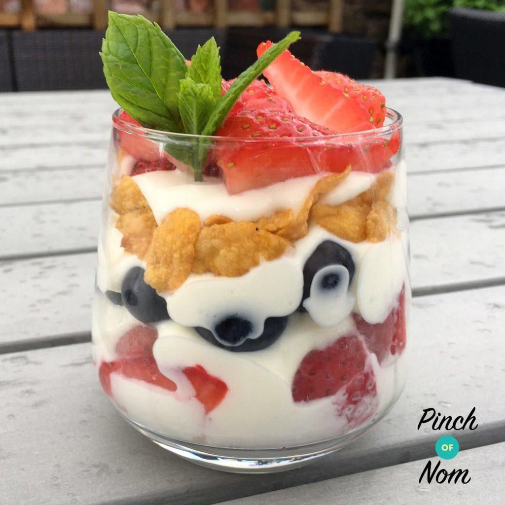 1 Syn Summer Berry Dessert