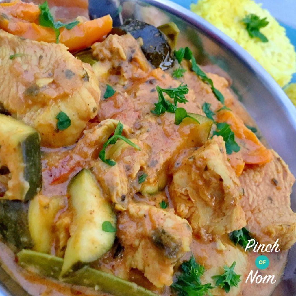 Creamy Chicken Curry   Slimming & Weight Watchers Friendly