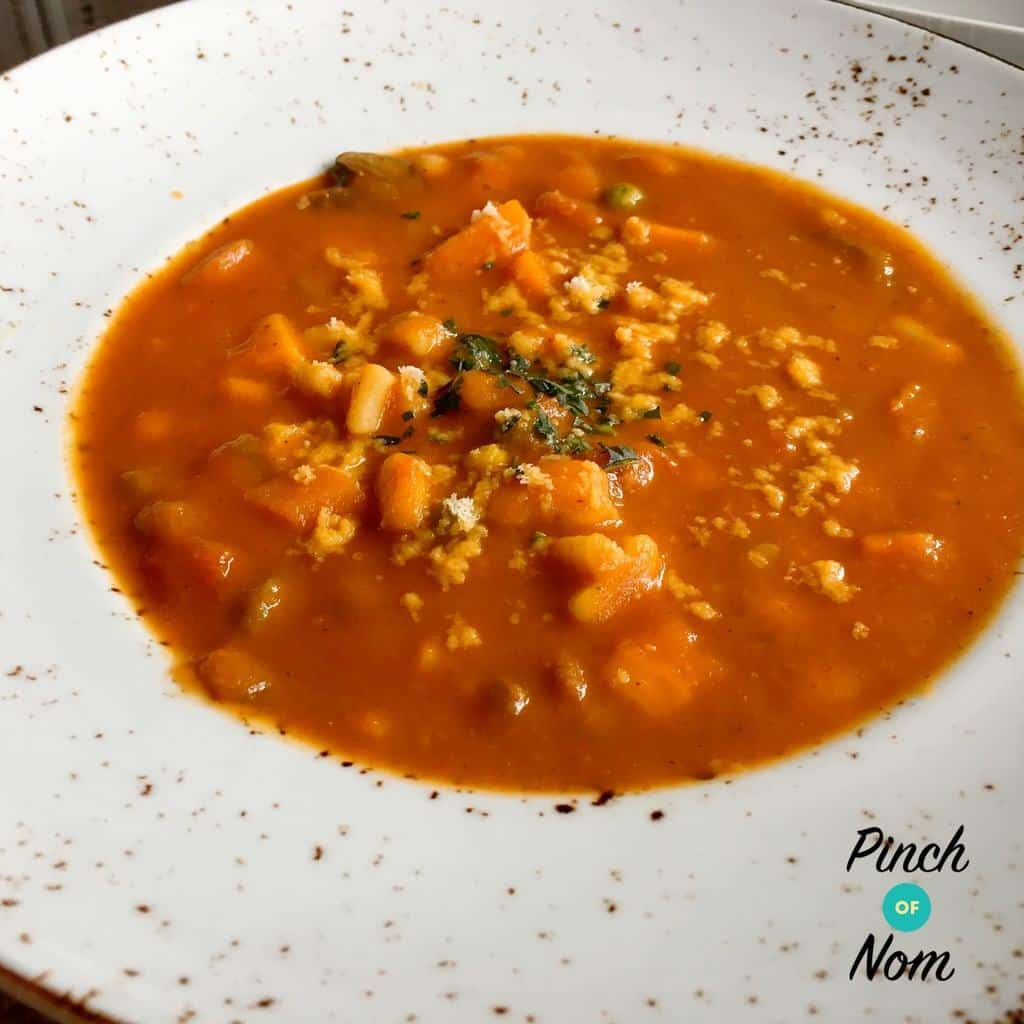 Minestrone Soup | Slimming & Weight Watchers Friendly