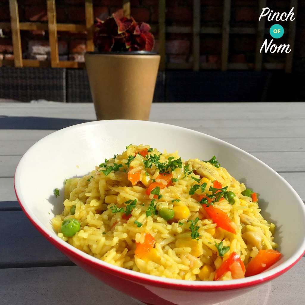 Syn Free Savoury Rice | Slimming World - Pinch Of Nom