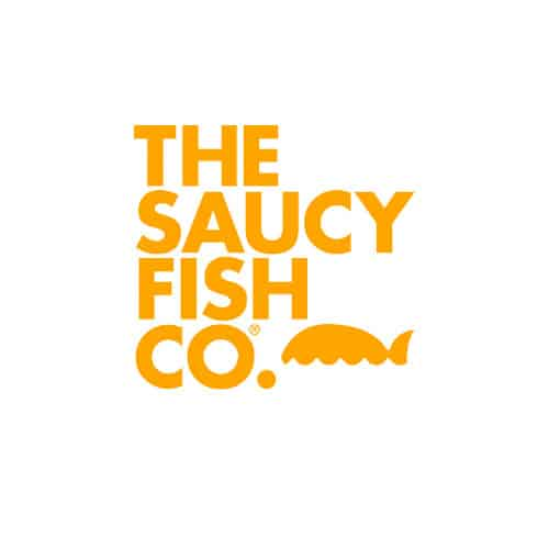 the saucy fish co logo