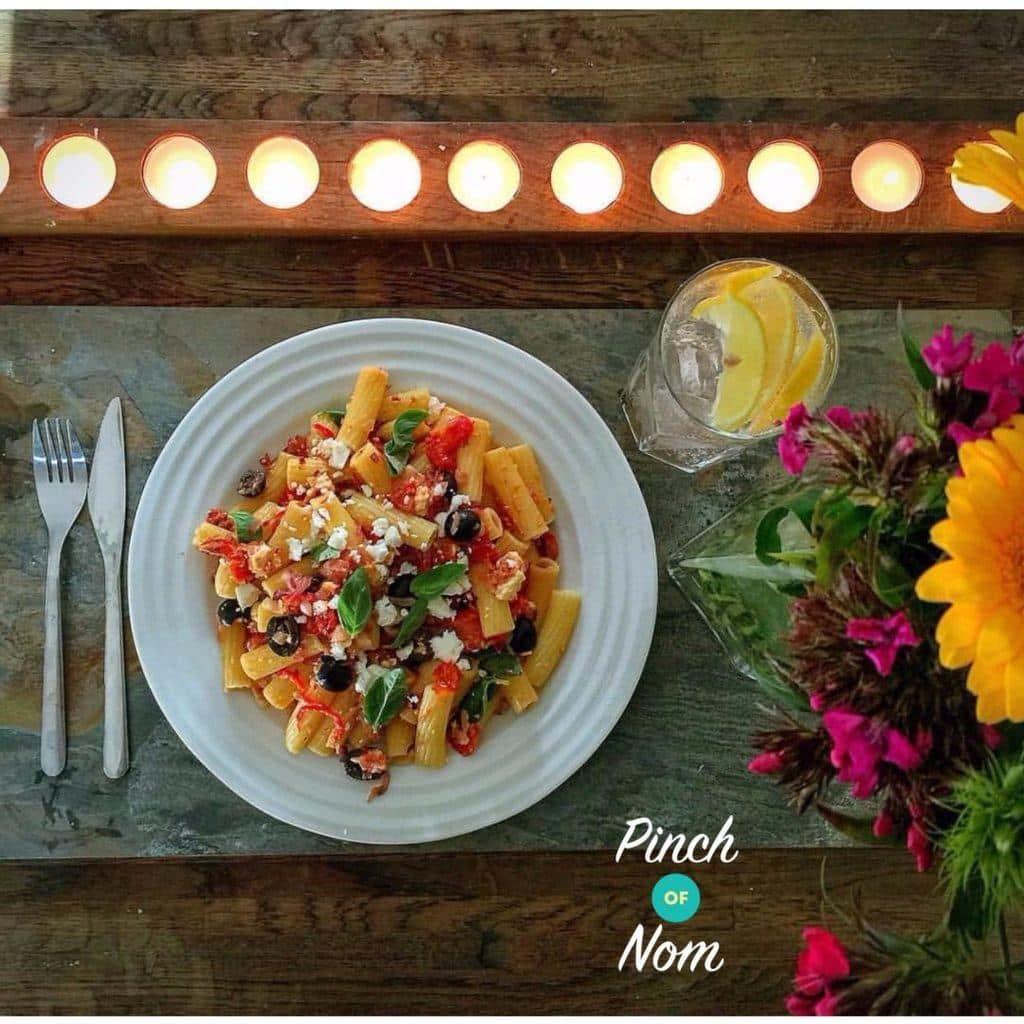 Garlic and Chilli Pasta | Slimming & Weight Watchers Friendly