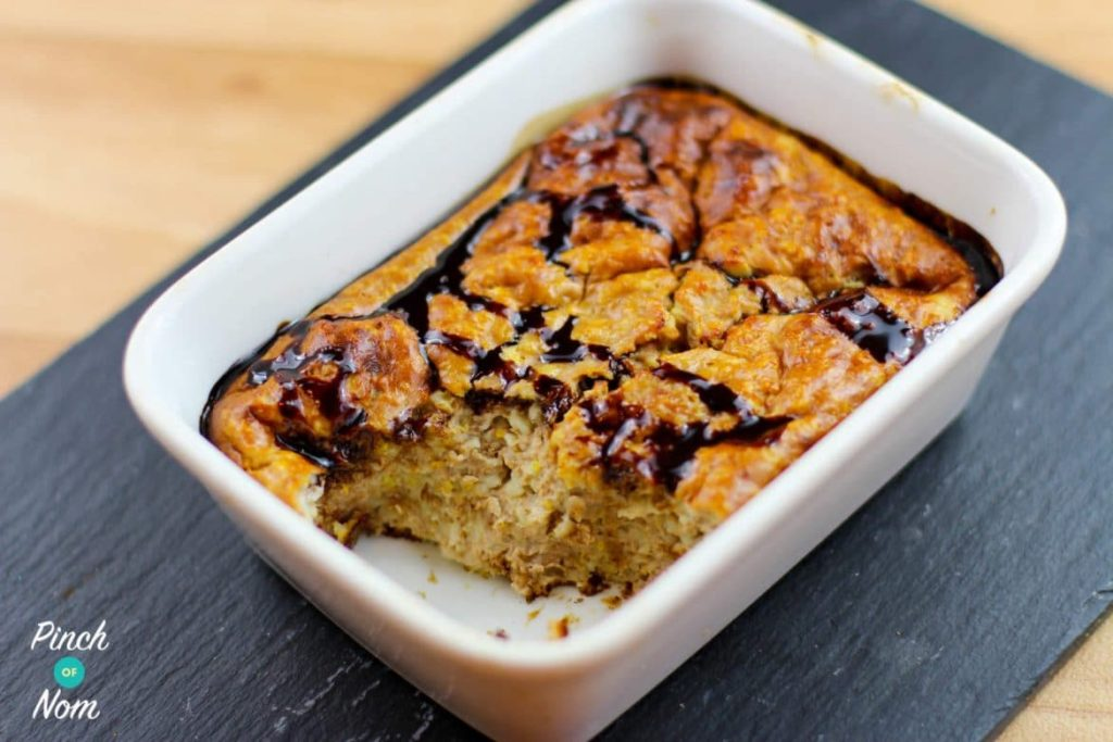 Chocolate Orange Baked Oats | Slimming & Weight Watchers Friendly