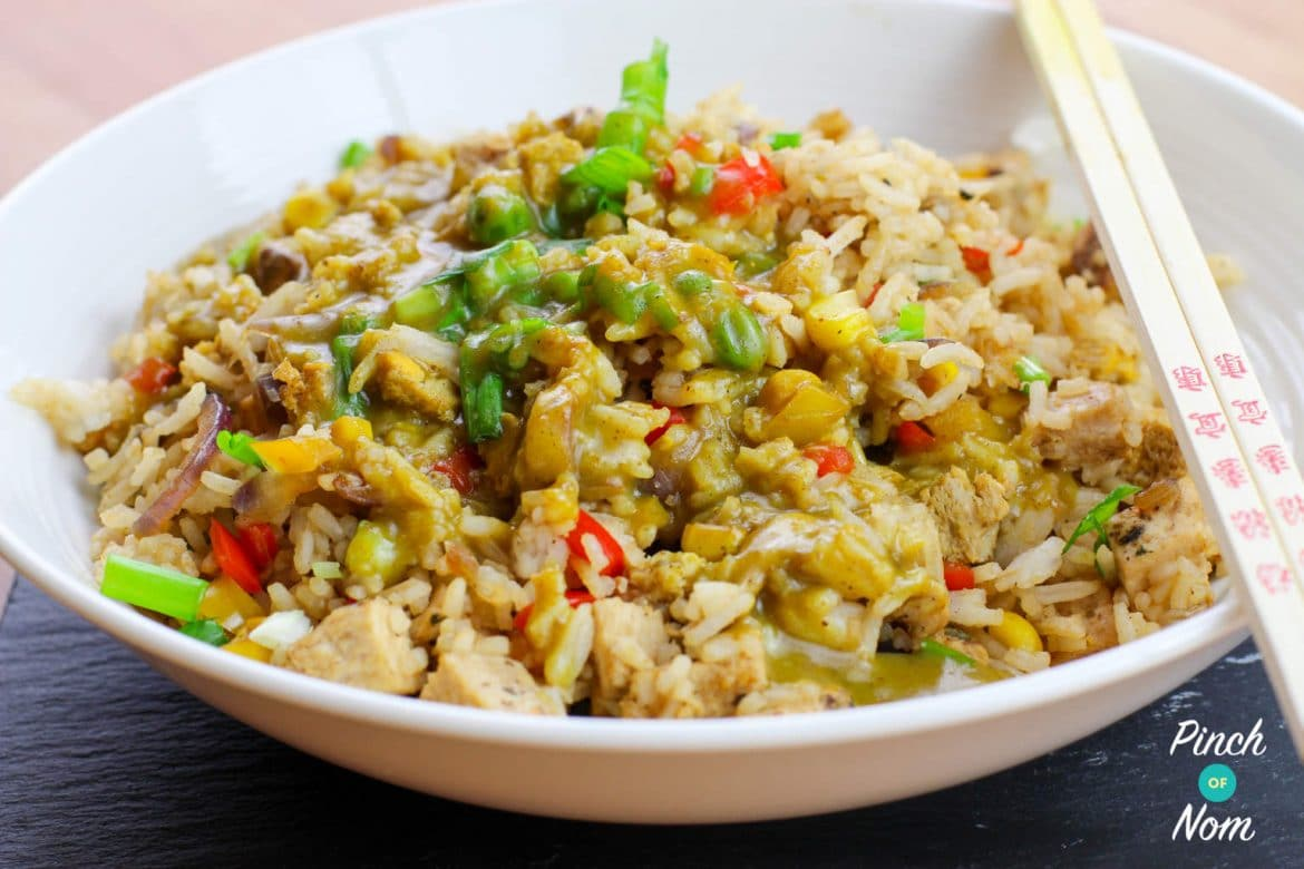 Fakeaway Fried Rice | Slimming & Weight Watchers Friendly