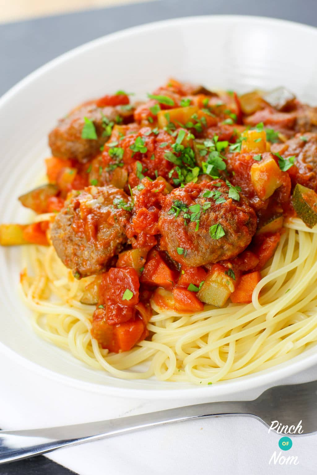 Meatball Marinara | Slimming & Weight Watchers Friendly