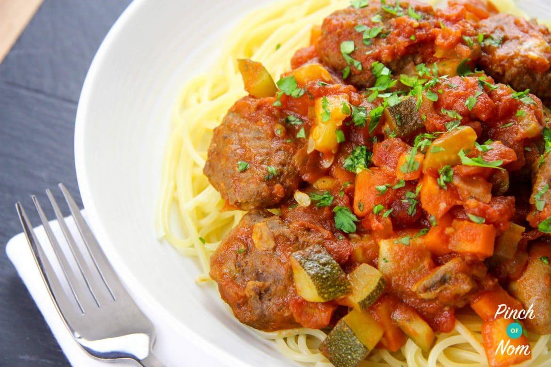 Meatball Marinara Slider | Slimming & Weight Watchers Friendly