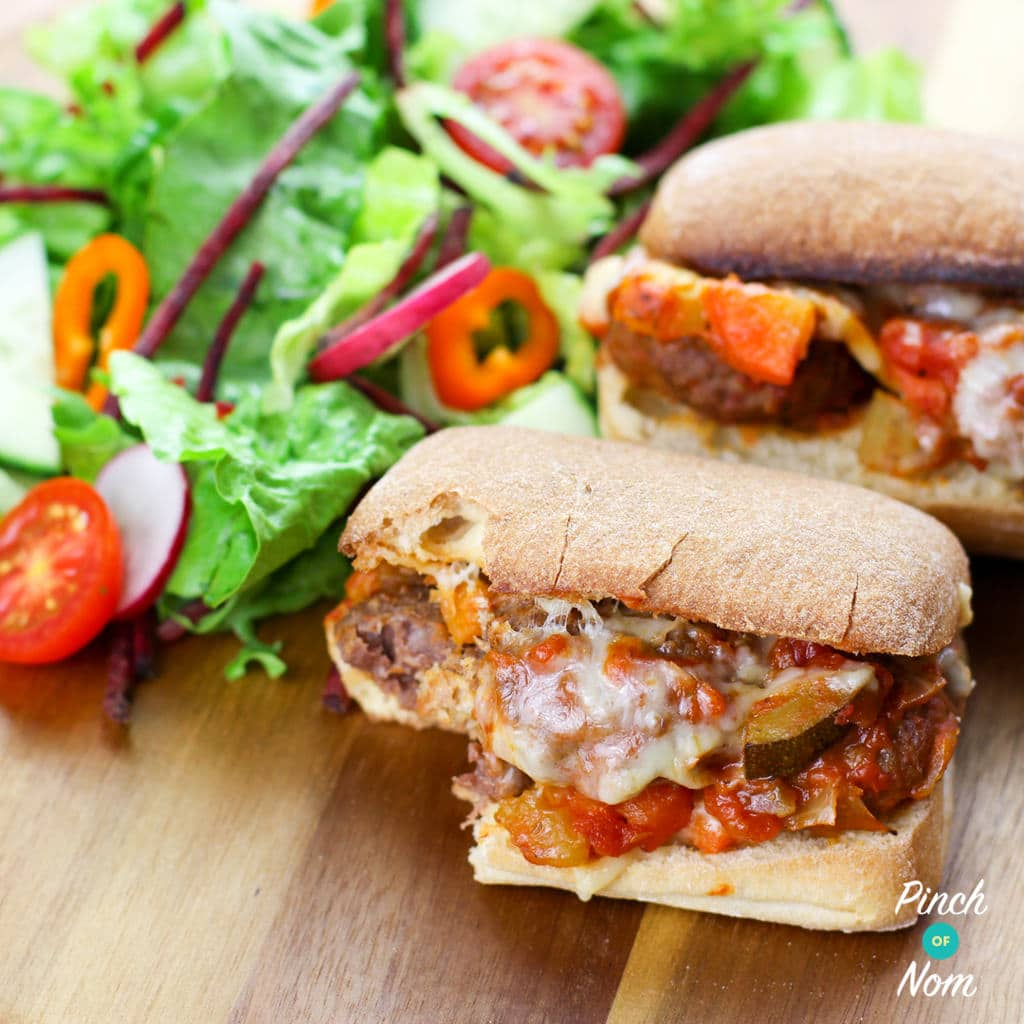 Meatball Marinara Slider | Slimming World