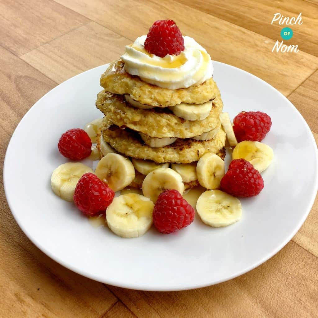 Oat Pancakes | Slimming World & Weight Watchers Friendly