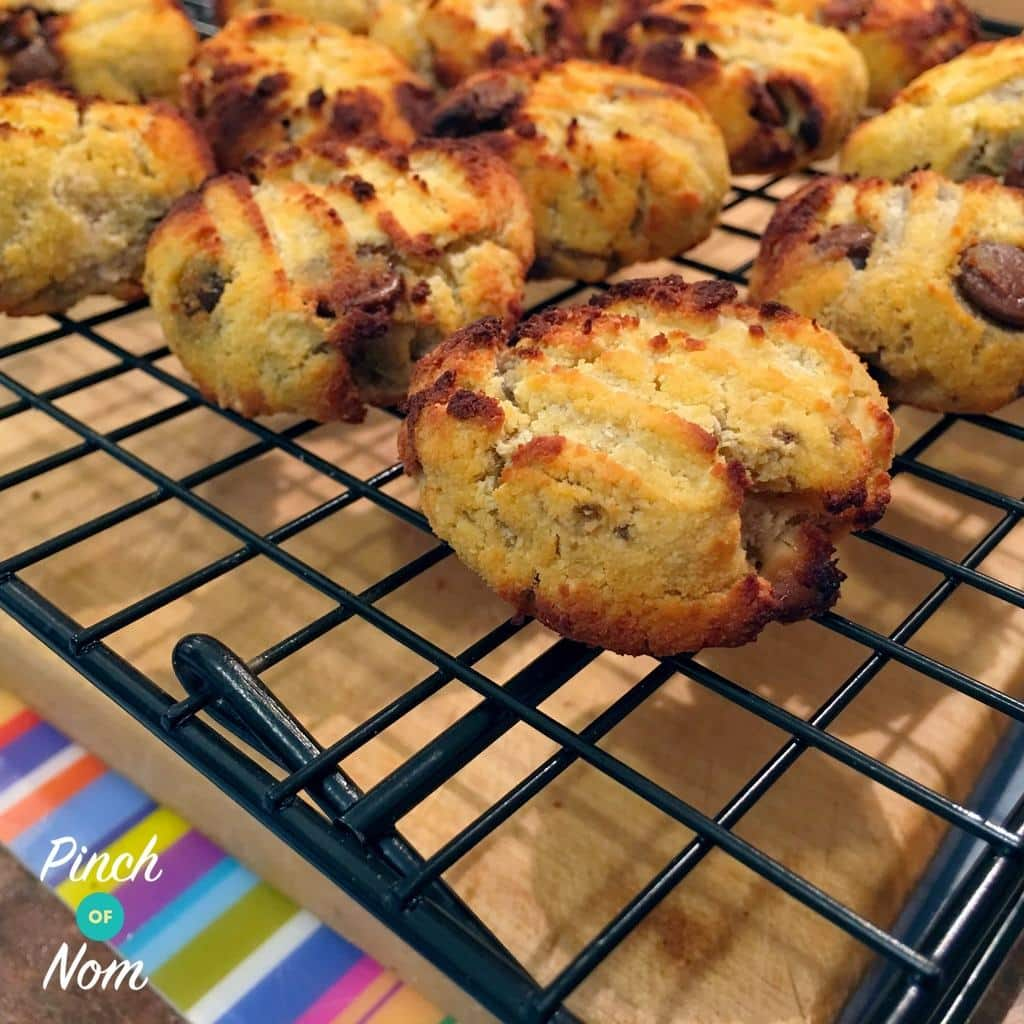 Coconut and Banana Chocolate Chip Cookies | Slimming & Weight Watchers Friendly