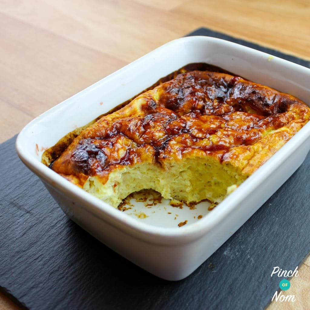 Low Syn Manchester Tart Baked Oats