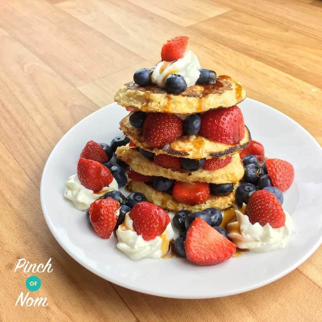 Oat Pancakes pinchofnom.com