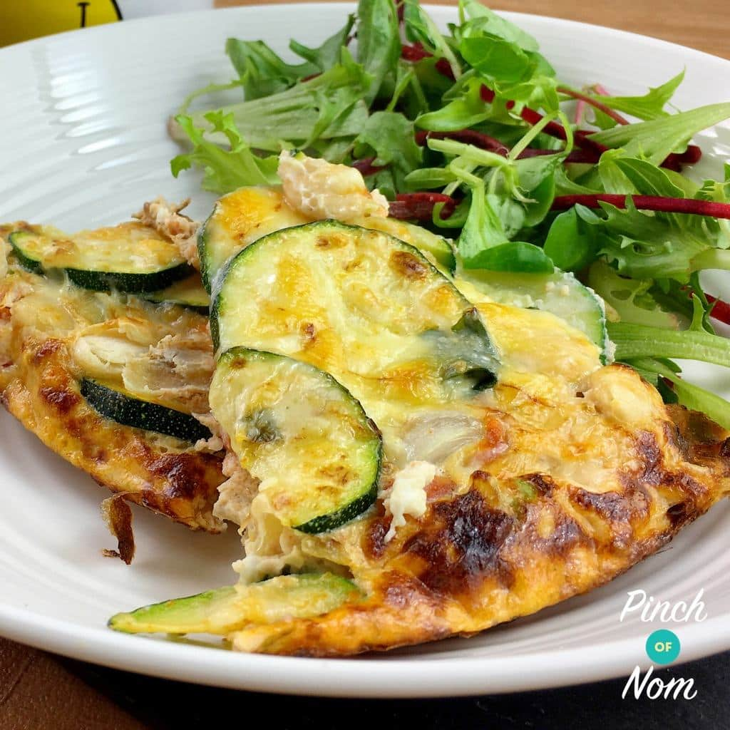 Courgette & Butterbean Frittata | Slimming World & Weight Watchers Friendly