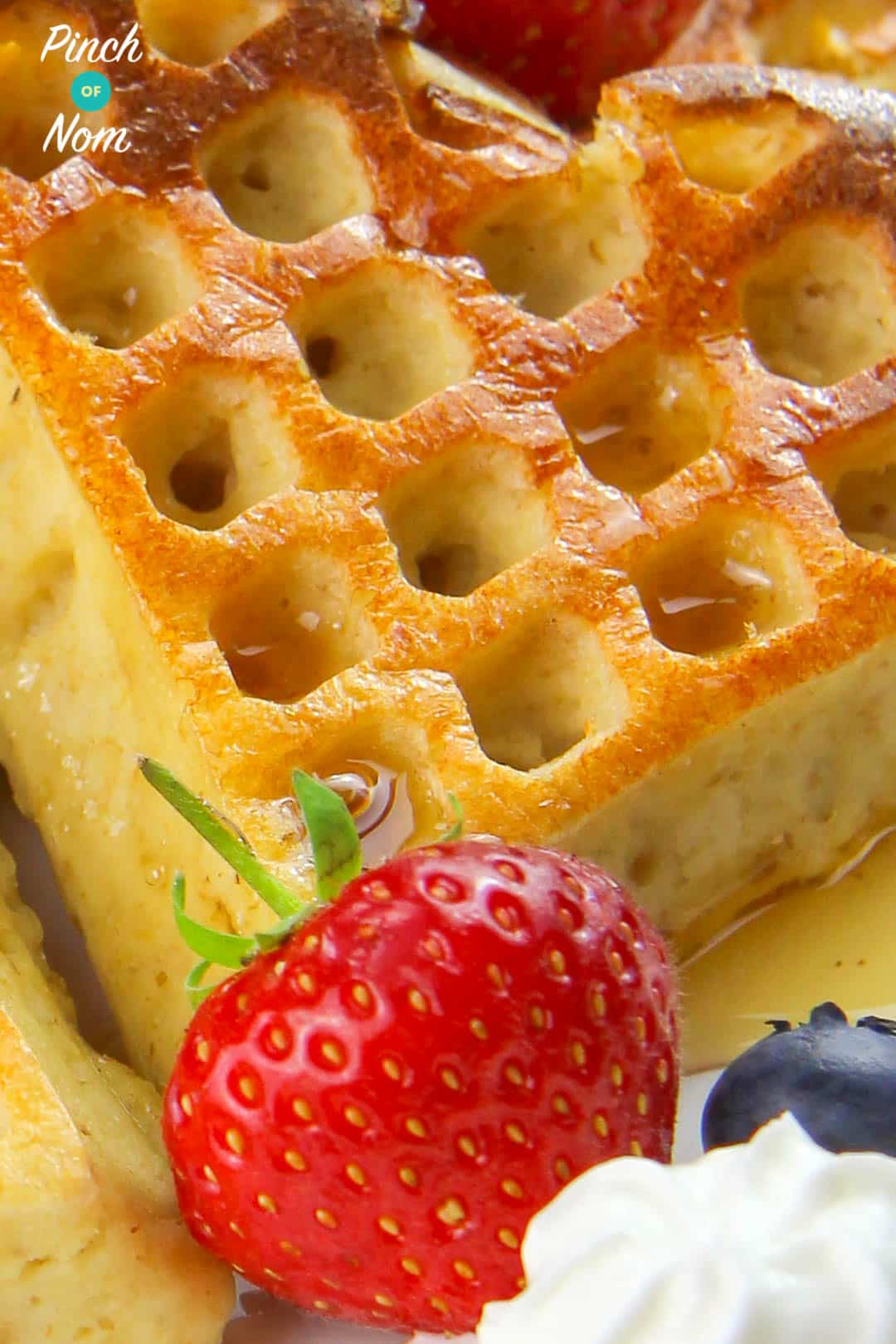 Strawberry and Vanilla Waffles   Slimming & Weight Watchers Friendly