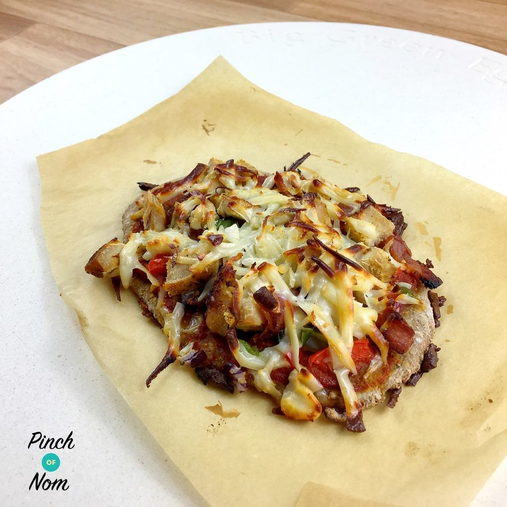 Syn Free Dominos Fakeaway Texas Bbq Pizza Slimming World
