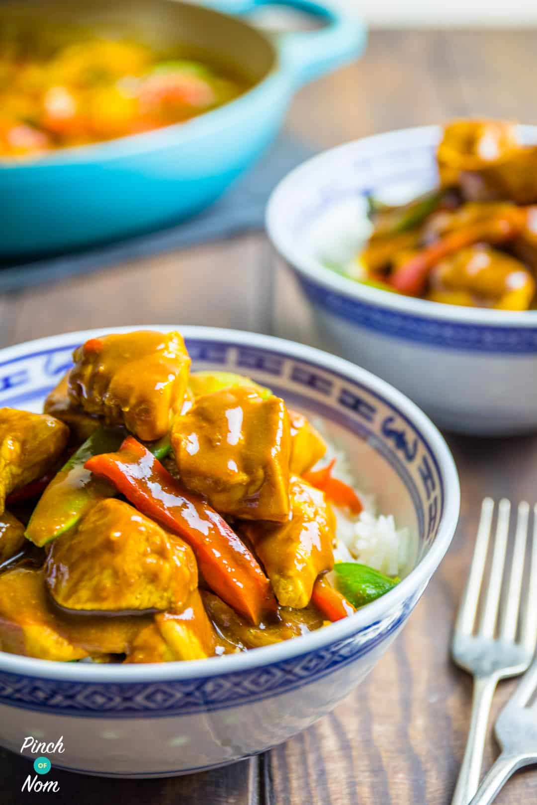 Chicken Satay Curry | Slimming World & Weight Watchers Friendly