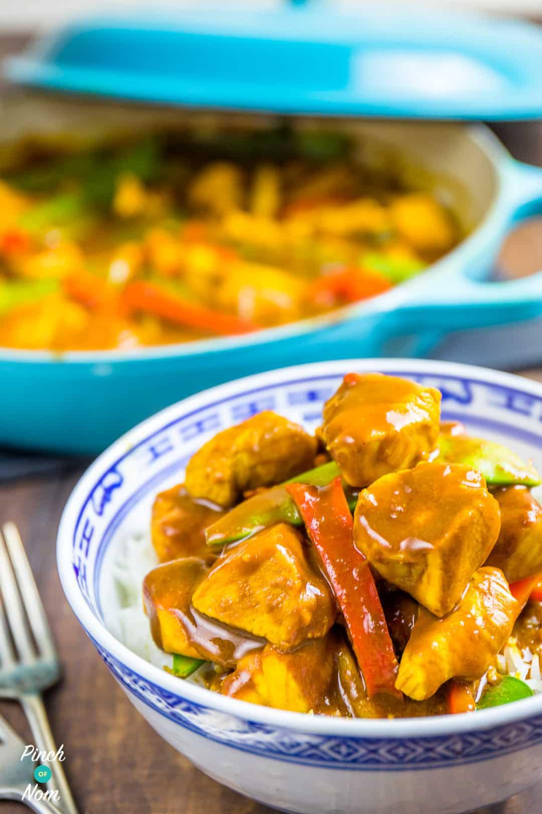Chicken Satay Curry | Slimming & Weight Watchers Friendly