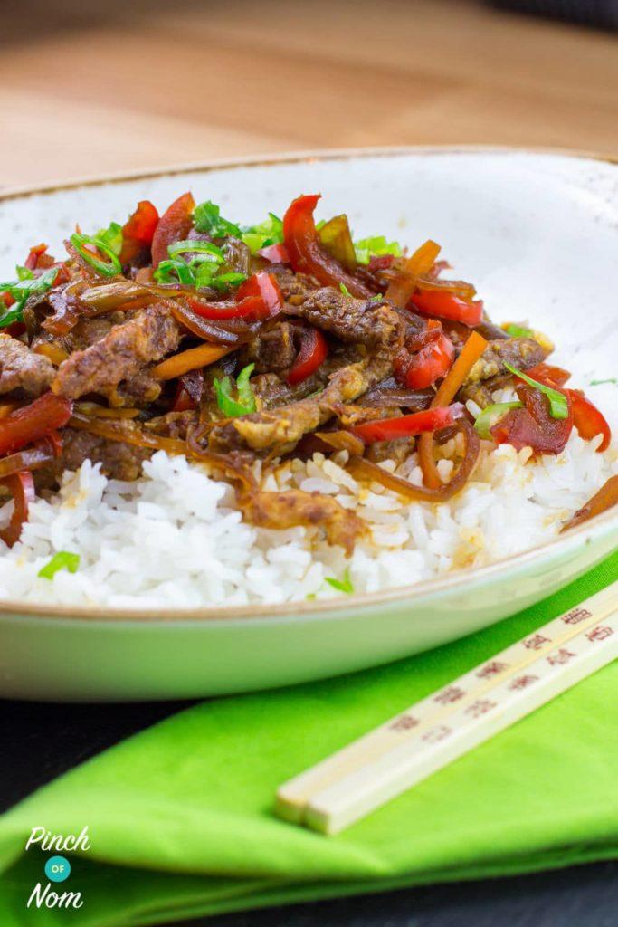 Crispy Chilli Beef | Slimming & Weight Watchers Friendly
