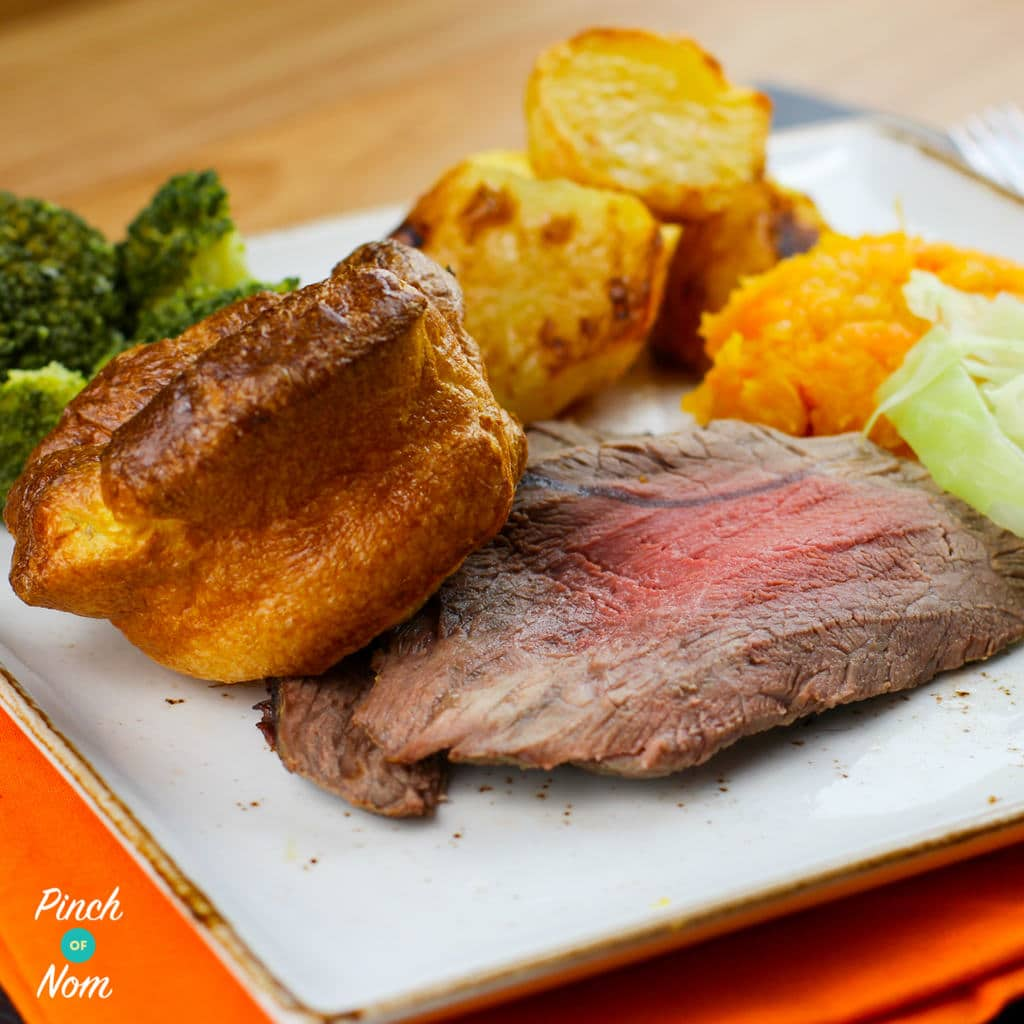 Roast Beef and Gravy Square