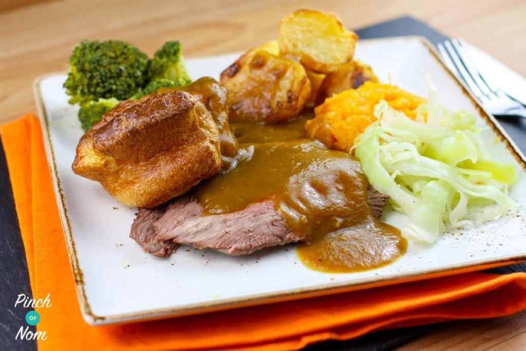 Roast Beef and Gravy | Slimming & Weight Watchers Friendly