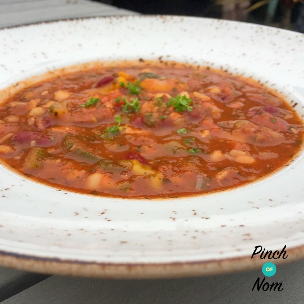 Syn Free Cajun Red Bean, Chick Pea and Tomato Soup