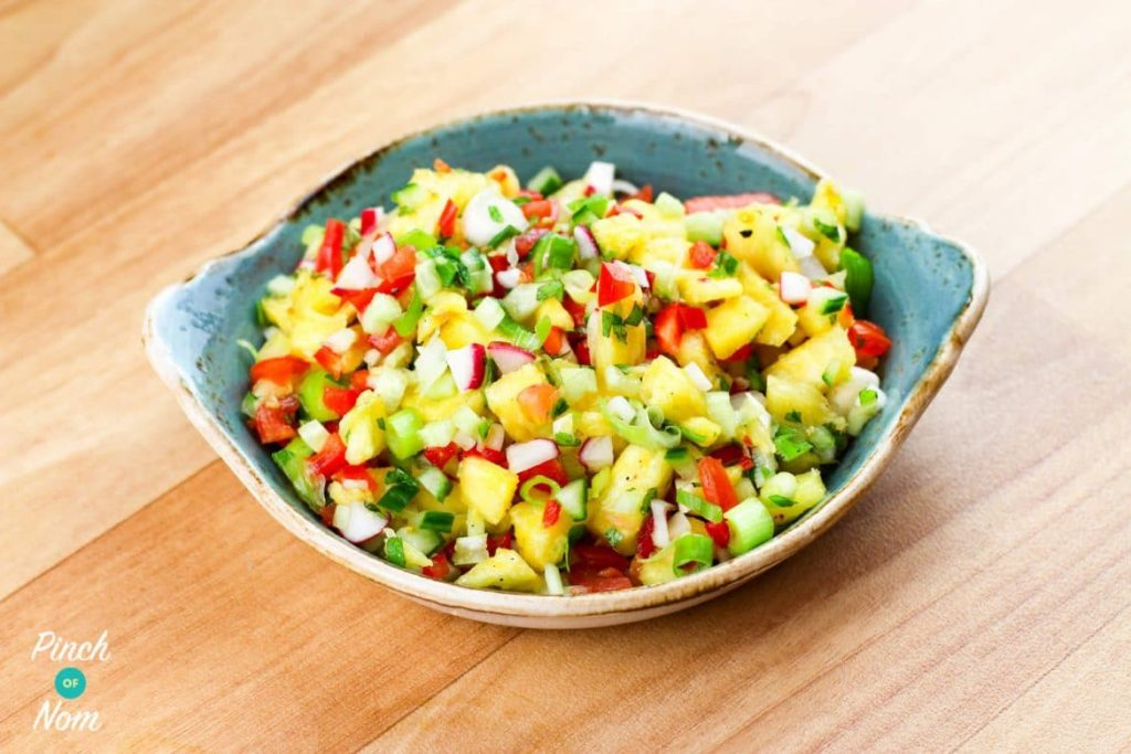 Pineapple Salsa | Slimming & Weight Watchers Friendly