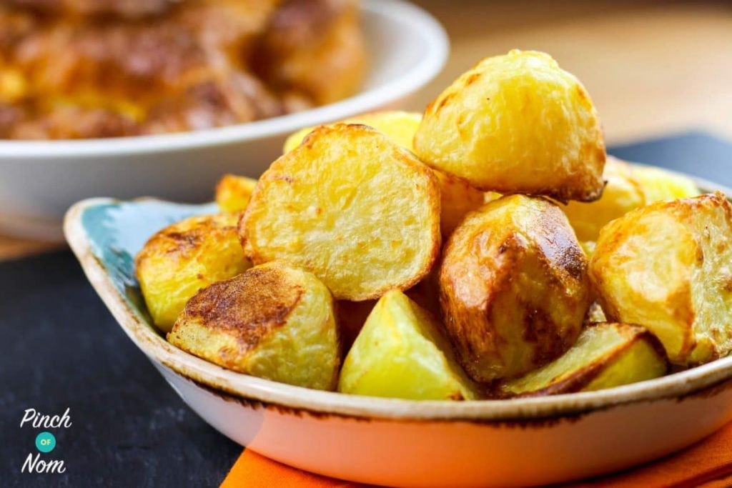 Roast Potatoes | Slimming & Weight Watchers Friendly
